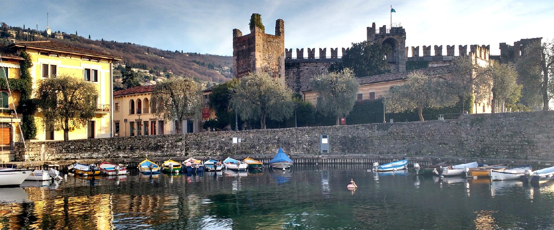Torri del Benaco am Gardasee