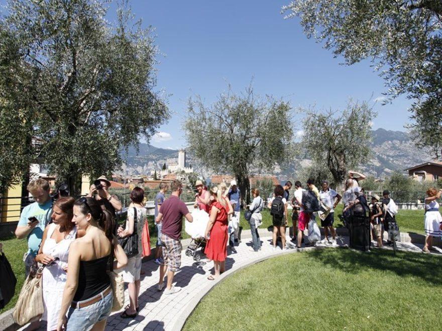 Malcesine und neue Seilbahn Monte Baldo am Gardasee