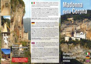 Informationen über Wallfahrtskirche Madonna della Corona: Adresse, Heilege Messen Feiertags, Heilege Messen Werktags.